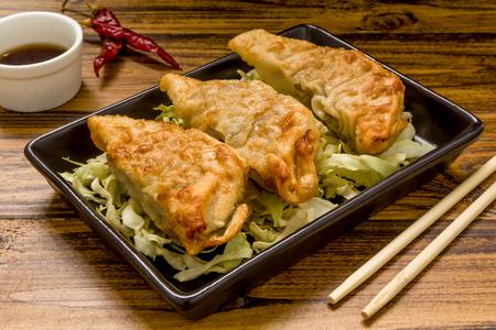中華料理の背景 写真素材
