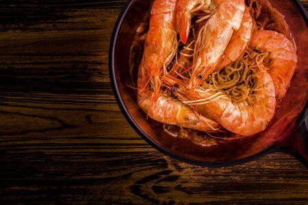 Thai Food Background Stock Photo