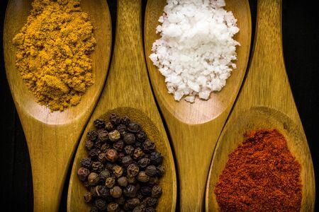 seasoning: Seasoning in Spoon Background