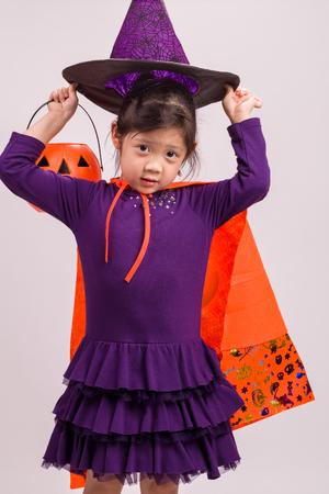bruja: Kid en Traje de la bruja de Blanca