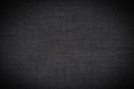 Black Fabric Texture of Silk as Background Stock Photo