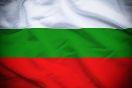 Bulgaria Flag Reklamní fotografie