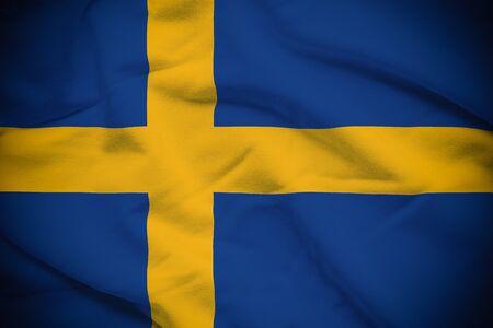 bandera suecia: Bandera Suecia
