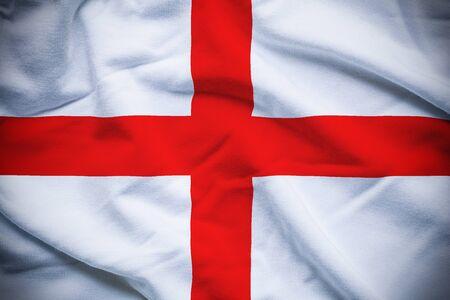 bandera inglaterra: England Flag Foto de archivo