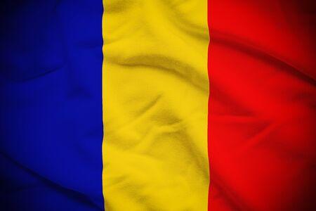 chadian: Chad Flag