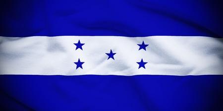 bandera de honduras: Bandera de Honduras Foto de archivo