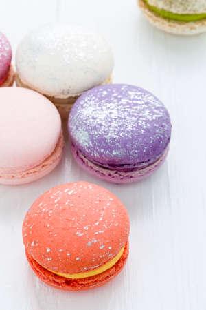 snack: Macaron Snack Stock Photo