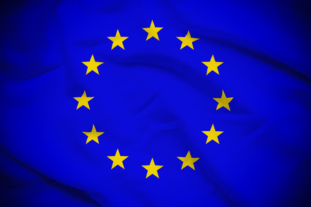 EU の旗 写真素材