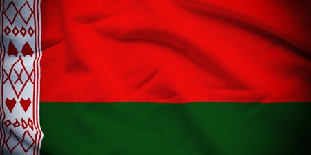 belarus: Belarus Flag Stock Photo
