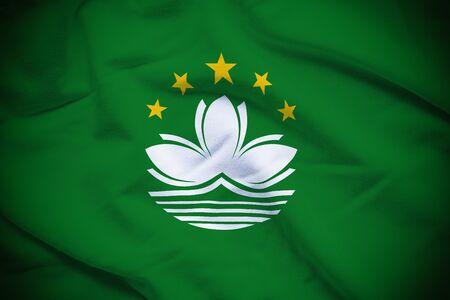 macau: Macau Flag Stock Photo