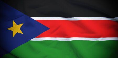 south sudan: South Sudan Flag