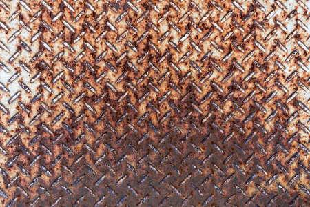 rough diamond: Rusty Steel Floor Texture Background