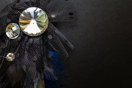 broach: Luxury Crystal Broach Background