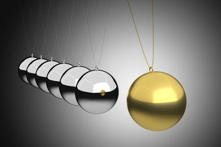 リーダーシップの概念は、3 D レンダリング 写真素材