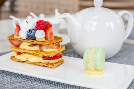 pasteleria francesa: Mille Feuille, French Pastry