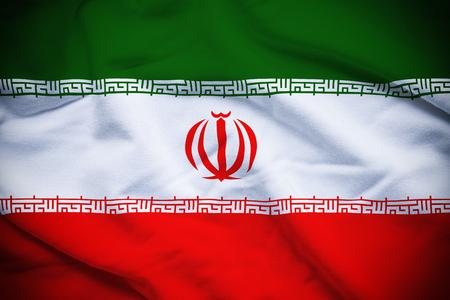 イランの国旗 写真素材