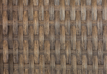 wickerwork: bamboo woven