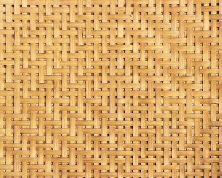 webbed: woven woven bamboo Stock Photo