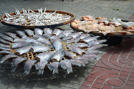 dry provisions: The fish Stock Photo