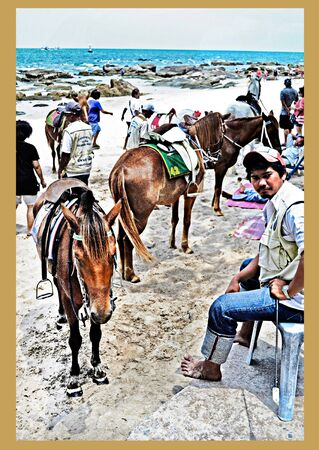restlessness: The horse beach at Huahin