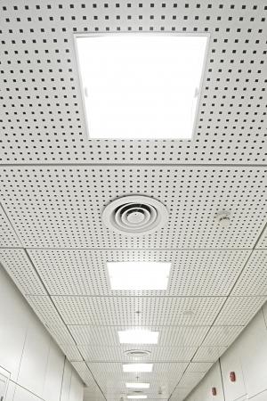 apogee: White Ceiling Stock Photo
