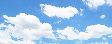 elysium: The best blue sky Stock Photo
