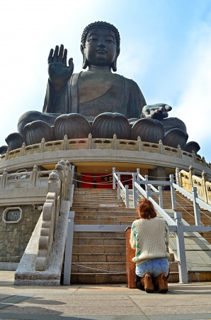 pray to budha in Hong kong