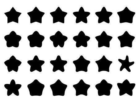 Cute star icons