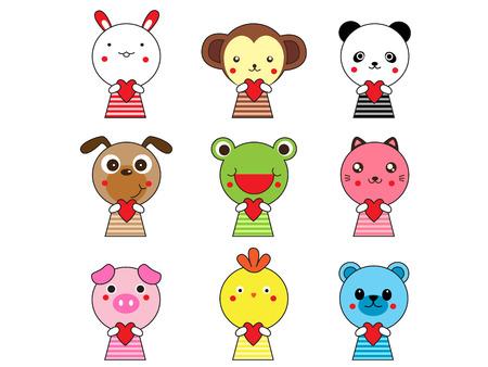 Cute Animal Icons