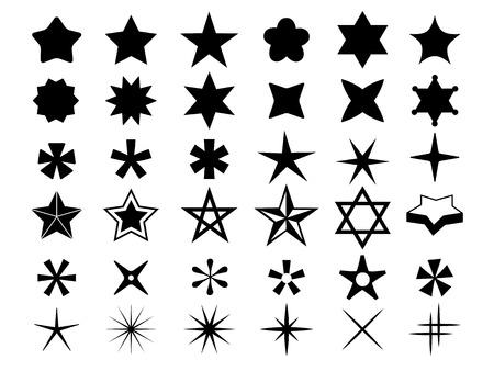 Star icons Çizim