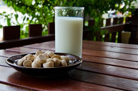 milk and cookie photo