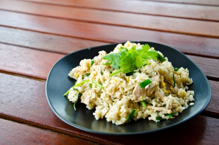 Thai fried rice photo