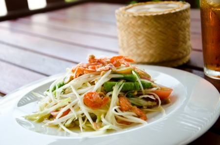 papaya salad photo