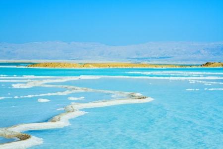 coast of the Dead Sea , Israel