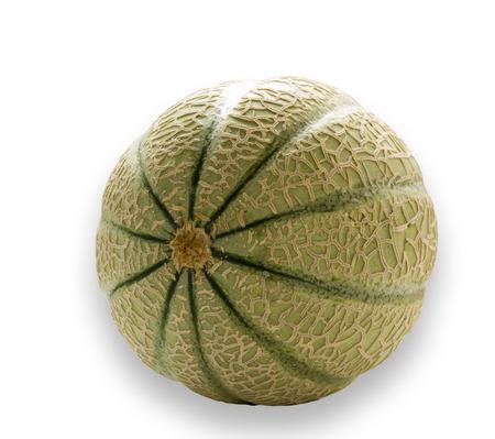 Beautiful photo melon aroma on a white background