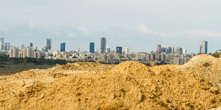 ramat aviv: Beautiful photos of Tel Aviv and Ramat Gan -Panorama picture.