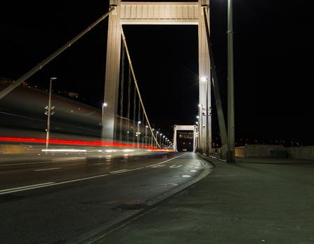elisabeth: Beautiful photo Elisabeth Bridge in Budapest , Hungary .