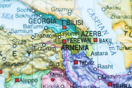 City Of Yerevan Stock Illustrations Cliparts And Royalty Free - Yerevan georgia map