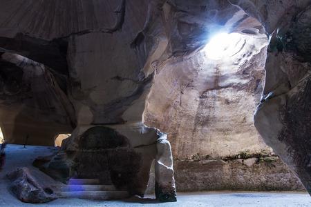 ar: Cave ar Bet Guvrin national park. Israel.