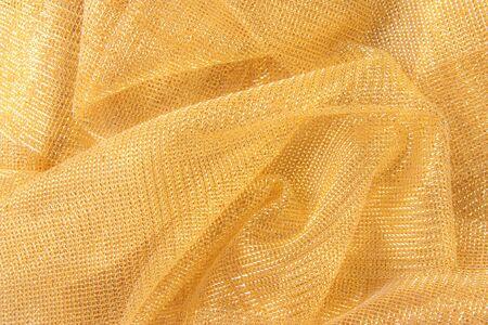 streak plate: Golden cloth.