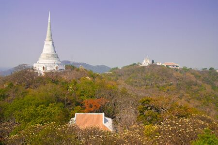 Palace on the top of mountain, Petchburi province, Thailand. Stock Photo - 4385256