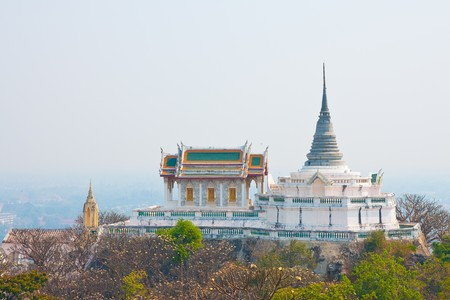 Temple in the palce on the mountain, Petchaburi provice, Thailand. Stock Photo - 4383370