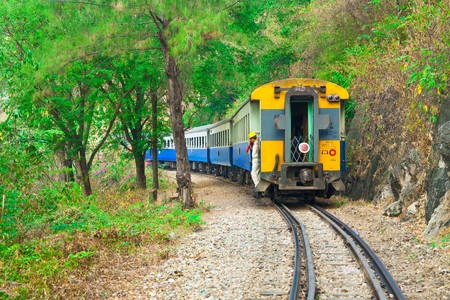 Death railway, Kanjanaburi, Thailand. photo