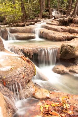 Waterfall. photo