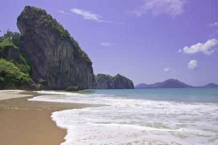 Hard Yao beach, Trang province, Thailand Stock Photo - 4534300