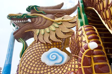 godliness: Dragon sculpture