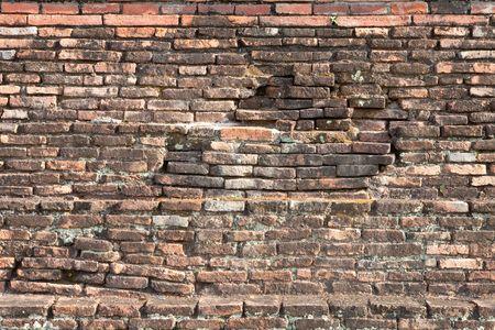 ruination: ฺBrick wall