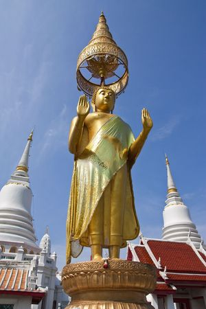 Temple in Bangkok, Thailand, Wat Pichai Yatikaram photo