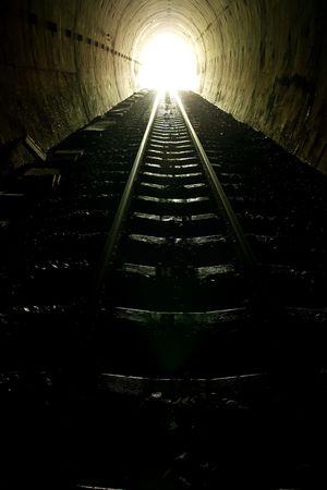 tunel: Habida cuenta de los extremos del tren del t�nel