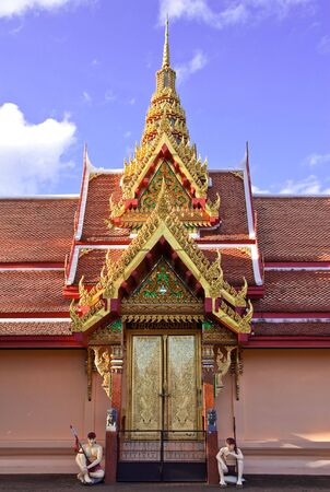 thai style: Traditional Thai style architecture